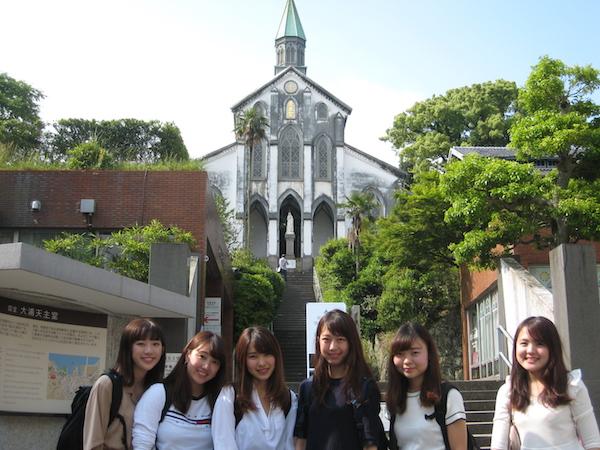 長崎の世界遺産候補を見学しました