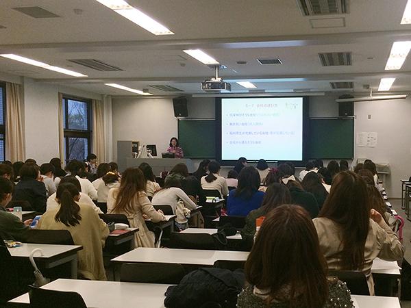 田邉和子名誉教授の講演